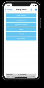 Kplus mobil Auftragsdetails iOS