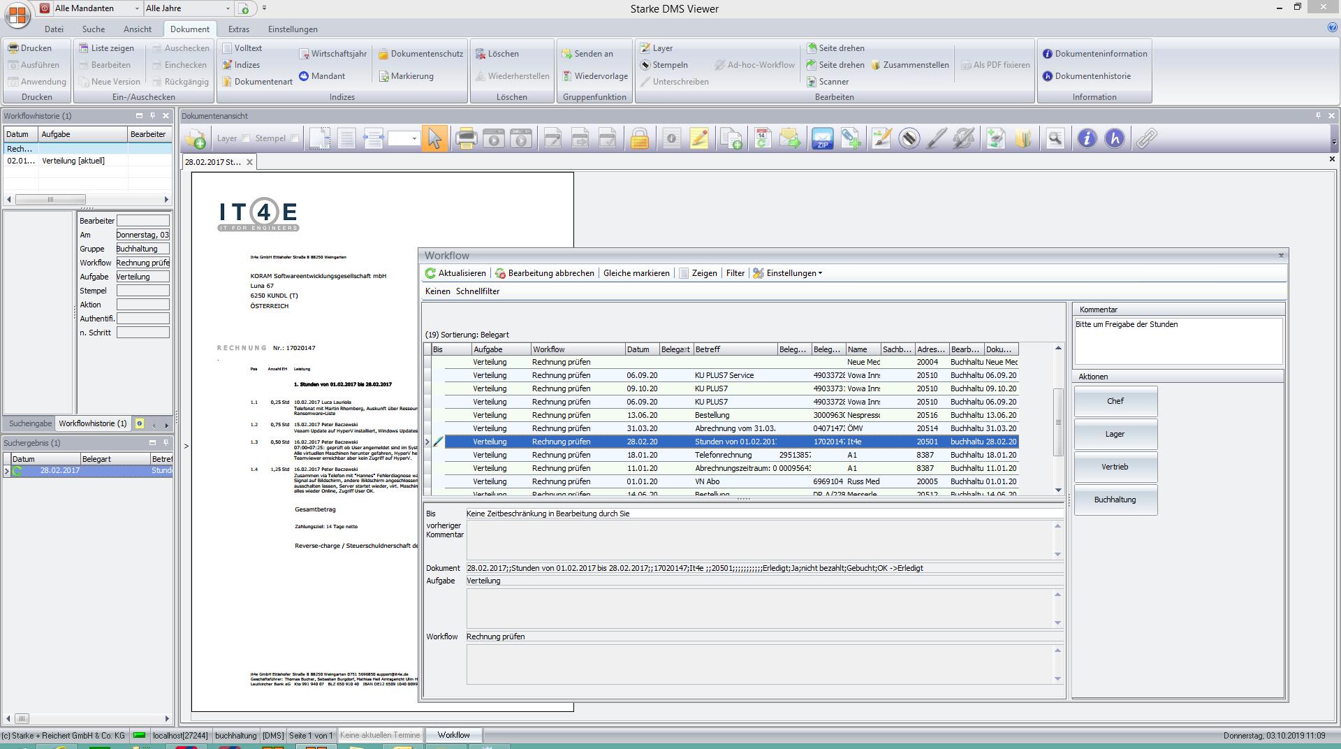 DMS Workflow