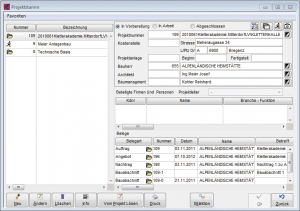 Elektro_Screenshot_Baustellenverwaltung